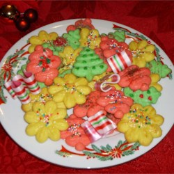 Tinted & Decorated Butter Cookies