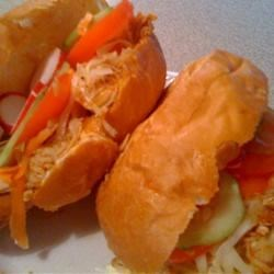 Turkey-Curtido Sandwiches Recipe