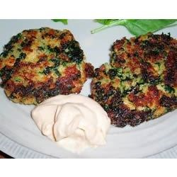 Moroccan Salmon Cakes with Garlic Mayonnaise Recipe