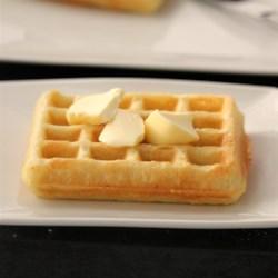 gluten free overnight yeasted waffles printer friendly
