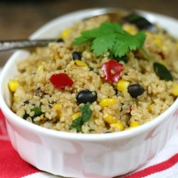 Simple Mexican Quinoa