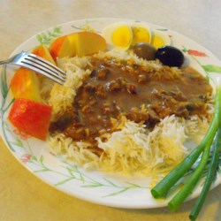 Lamb Madras Curry Recipe