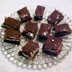 Marshmallow Fudge Bars Recipe