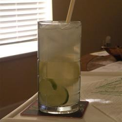 lemonade with lime!! sooo refreshing!!