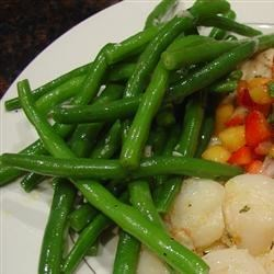 Easy Garden Green Beans Recipe