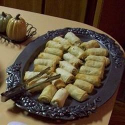 Photo of Southwestern Seafood Egg Rolls by Lori  Coeling