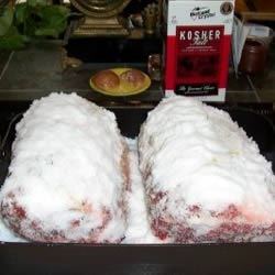 Kosher Salt Encrusted Prime Rib Roast
