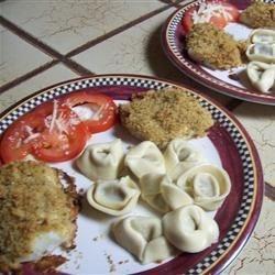 Italian Crumb Cod w/ Tortalini & Tomato