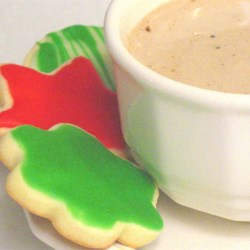 Cream Cheese Sugar Cookies and Cocoa