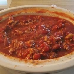 Slow Cooker Chicken and Sausage Chili Recipe
