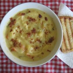 Garden Cheese Soup Recipe