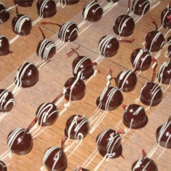 With Drizzled White Chocolate - A HIT!!