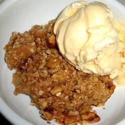 Nutty Apple Crisp Recipe