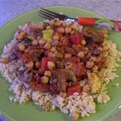Garbanzo Bean Stir Fry