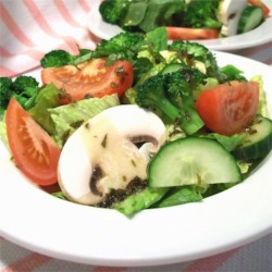 Basil Vinaigrette Dressing Recipe