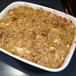 My first Apple Crisp