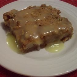Image of Apple Cake With Lemon Sauce, AllRecipes