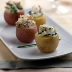Crab Filled Potato Bites