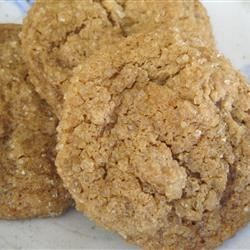 Healthier Big Soft Ginger Cookies