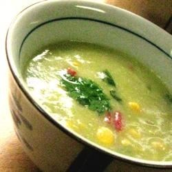 Image of Avocado Corn Soup, AllRecipes