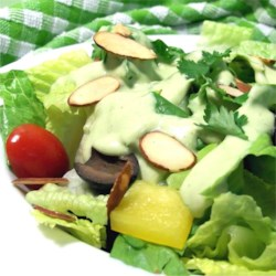 Avocado Green Goddess Dressing Recipe