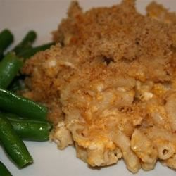 Healthier Chuck's Favorite Mac and Cheese
