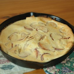 Oven Pancake with Apples Recipe