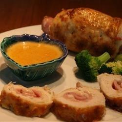 Healthier Chicken Cordon Bleu I