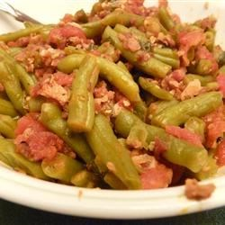 Sweet Italian Green Beans Recipe