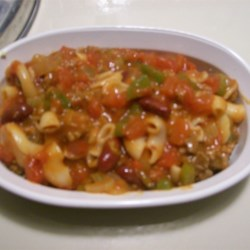 Gramma's Old Fashioned Chili Mac Recipe