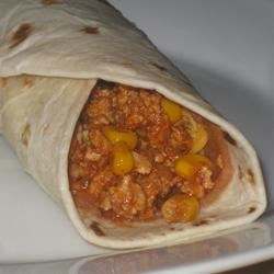 Gary's Turkey Burritos Recipe