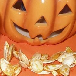 Photo of Sweet Spicy Pumpkin Seeds  by Traci