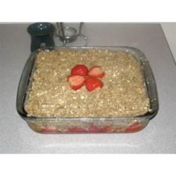 Strawberry Rhubarb Crunch!
