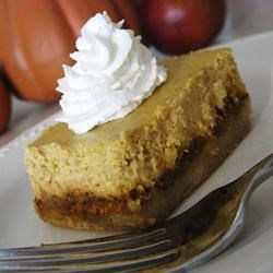 Pumpkin Cheesecake Squares Recipe