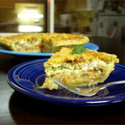 Tomato and Basil Quiche Recipe