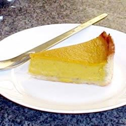 Pumpkin Custard Pie I