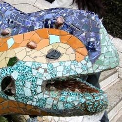 Gaudí's Lizard