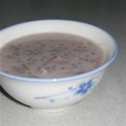 Taro Coconut Tapioca Dessert Recipe