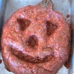 Photo of Halloween Jack-O'-Lantern Meatloaf by Kelly Stoltenburg