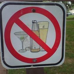 Capitol Hill park: no martinis allowed!