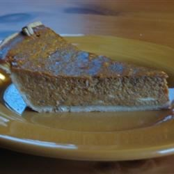 Spicy Pumpkin Pie II Recipe