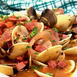 Clams and Chourico Recipe