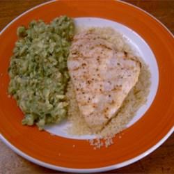 Mediterranean Chicken Breast with Avocado Tapenade Recipe