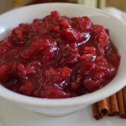 Maple Walnut Cranberry Sauce