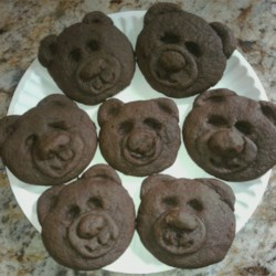 chocolate teddy bear cookies.