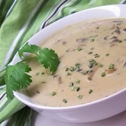 Photo of Cream of Mushroom Soup III by Sadie