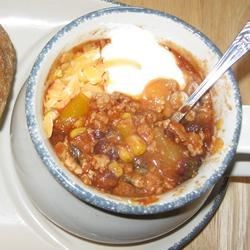 Image of Sweet Pork Slow Cooker Chili, AllRecipes