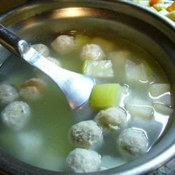 Photo of Winter Melon Meatball Soup by mal