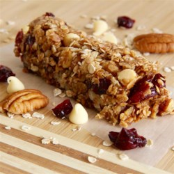 cranberry nut oatmeal granola bars printer friendly