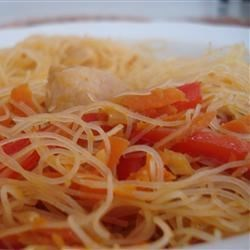 Quick Chinese-Style Vermicelli (Rice Noodles) Recipe